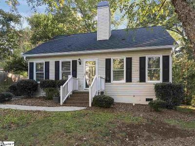 Greenville Single Family Home For Sale: 5 Dearsley