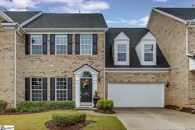 Simpsonville Condo/Townhouse For Sale: 21 Dillworth