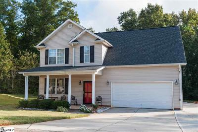Boiling Springs Single Family Home For Sale: 294 Waxberry