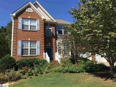 Travelers Rest Single Family Home For Sale: 3 Dunwoody