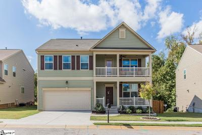 Simpsonville Single Family Home For Sale: 520 Riverdale