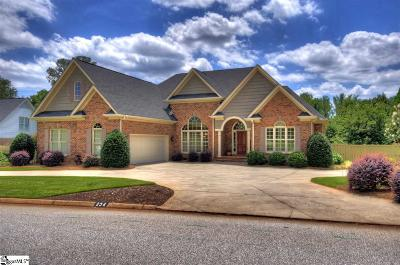 Greer Single Family Home For Sale: 234 Woods