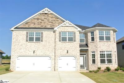 Simpsonville Single Family Home For Sale: 609 Rose Arbor
