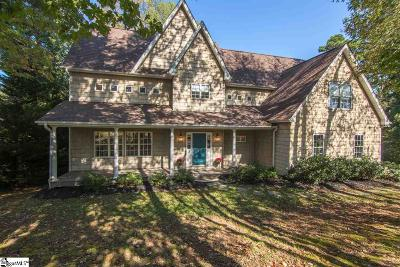Easley Single Family Home Contingency Contract: 145 Upper Lake