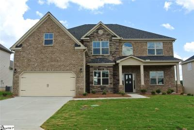 Simpsonville Single Family Home For Sale: 5 Foxhill