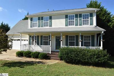 Taylors Single Family Home For Sale: 7 Spring Sky