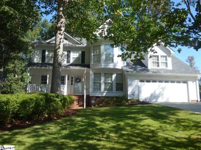 Greer Single Family Home Contingency Contract: 131 Crosswinds
