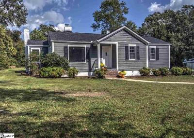 Greenville Single Family Home For Sale: 140 Batesview