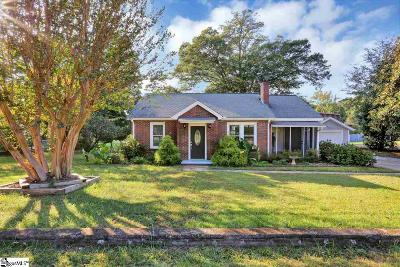 Greenville Single Family Home Contingency Contract: 214 N Beacon