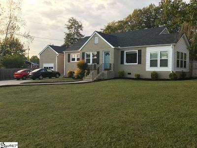 Travelers Rest Single Family Home For Sale: 403 Tigerville