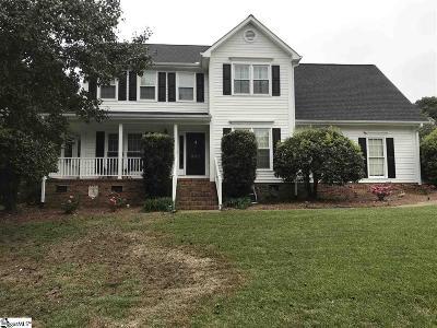 Mauldin Single Family Home For Sale: 201 Hyde Park