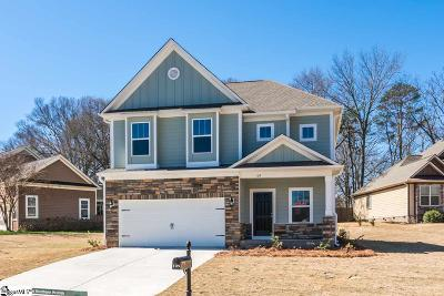 Fountain Inn Single Family Home Contingency Contract: 109 Brierfield