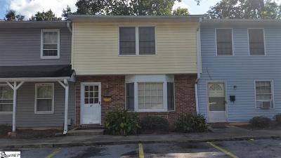 Greenville Condo/Townhouse For Sale: 69 Pine Creek Court
