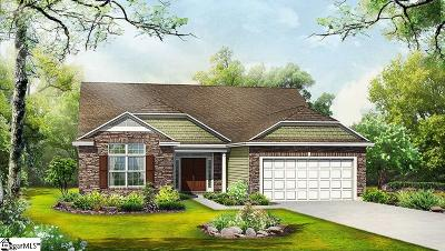 Simpsonville Single Family Home For Sale: 124 Riverland Woods
