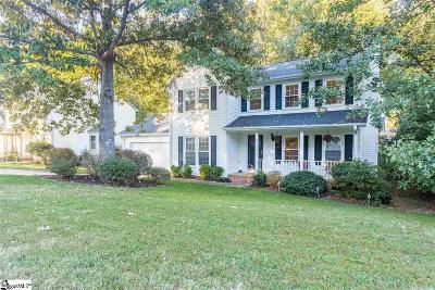 Mauldin Single Family Home Contingency Contract: 11 Poplar Springs