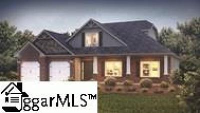 Simpsonville Single Family Home For Sale: 202 Greengate