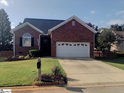 Simpsonville Single Family Home For Sale: 3 Equestrian