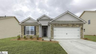 Greer Single Family Home For Sale: 459 Bucklebury