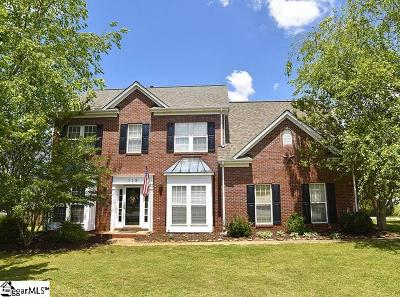Greer Single Family Home For Sale: 115 Marcie Rush
