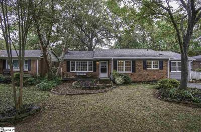 Taylors Single Family Home For Sale: 121 Forestdale