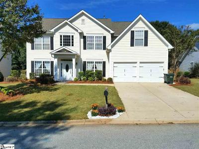 Greenville Single Family Home For Sale: 525 Morning Creek