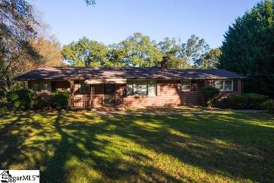 Mauldin Single Family Home For Sale: 9 Green