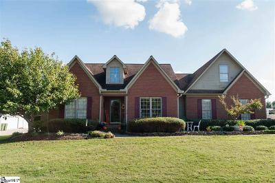 Inman Single Family Home For Sale: 120 Stonehedge
