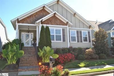 Simpsonville Single Family Home For Sale: 24 Flintwood