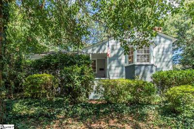 Greenville SC Single Family Home For Sale: $357,000