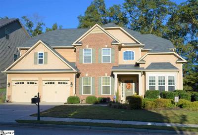 Simpsonville Single Family Home For Sale: 308 Strasburg