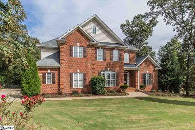 Spartanburg Single Family Home For Sale: 115 Dunwoody