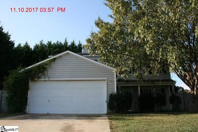 Simpsonville Single Family Home For Sale: 3 Hideaway