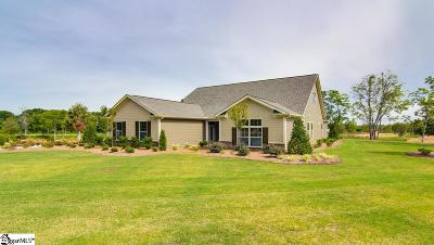 Simpsonville Single Family Home For Sale: 2 Portico