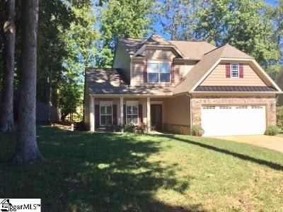 Simpsonville Single Family Home For Sale: 308 Applehill