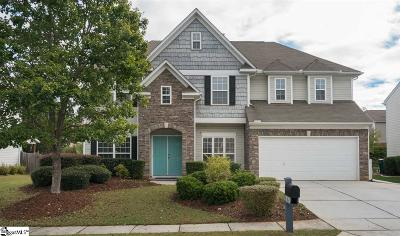 Simpsonville Single Family Home For Sale: 10 Morning Tide