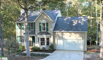 Simpsonville Single Family Home For Sale: 212 Wild Horse Creek