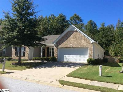 Simpsonville Single Family Home For Sale: 511 Kingsmoor