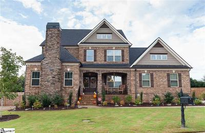 Simpsonville Single Family Home For Sale: 5 Clifton Grove