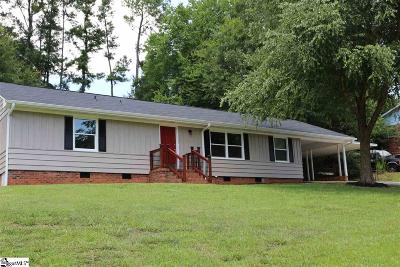 Spartanburg Single Family Home For Sale: 125 Dover