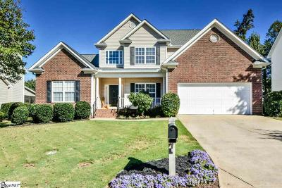 Simpsonville Single Family Home For Sale: 7 Crowsnest