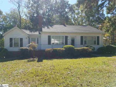 Taylors Single Family Home For Sale: 121 W Lee