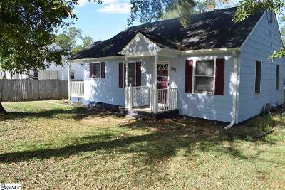 Anderson Single Family Home For Sale: 2614 Whitehall
