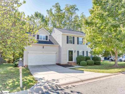 Simpsonville Single Family Home For Sale: 102 Brookhaven