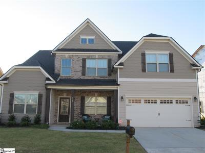 Greer Single Family Home For Sale: 709 Roseclift