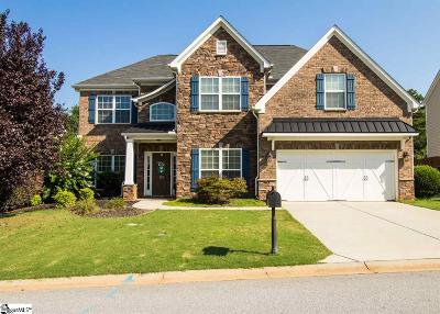 Simpsonville Single Family Home For Sale: 116 Wild Meadow