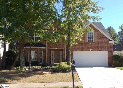 Simpsonville Single Family Home For Sale: 805 Brielle