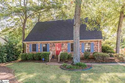Greenville SC Single Family Home For Sale: $375,000