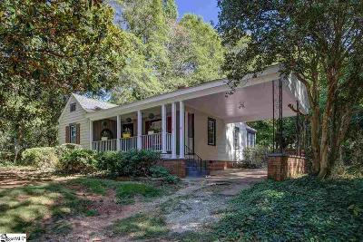 Spartanburg Single Family Home For Sale: 129 Rosemary