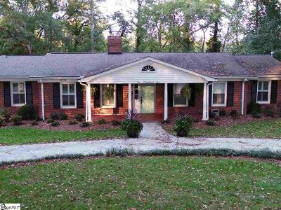 Greenville SC Single Family Home For Sale: $300,000
