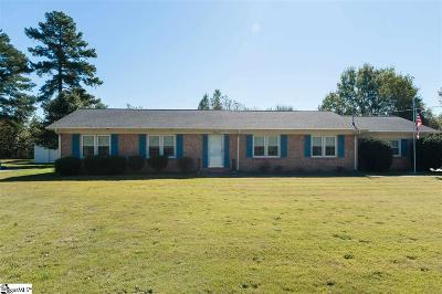 Spartanburg Single Family Home For Sale: 237 Peach Valley